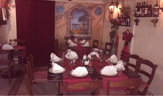 Wees welkom bij het zonnige restauranté Casa del Sol.