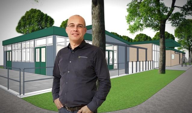 Penningmeester Robert Overgaag van DHL zoekt het in obligaties om de nieuwbouw te (mee)financieren