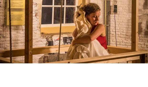 De voorstelling Antigone tijdens Delft Fringe Night #13.