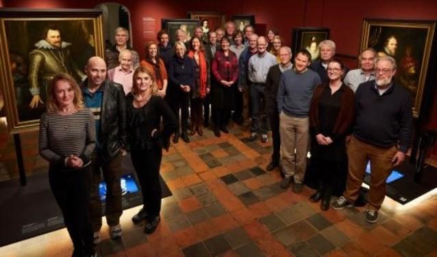 De werkgroep die meedenkt over de besluitvoering met betrekking tot de plannen Sint Agathaplein / Museum Prinsenhof