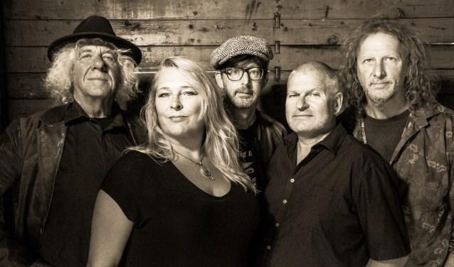 Gratis genieten van de Wildmen Bluesband in het Rietveld Theater (Foto: Wiek van Lieshout)