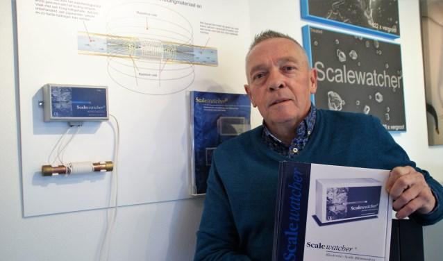 René Vermeulen bij de ScaleWatcher, verkrijgbaar via zijn Benelux-wijde organisatie Qualified Sales.