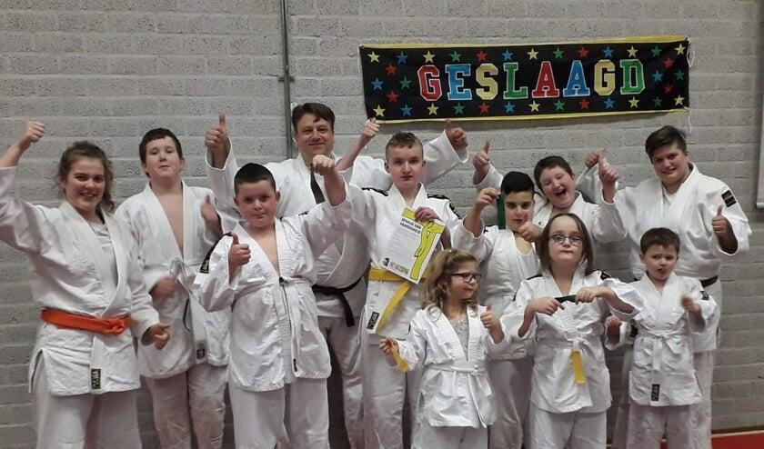 Judo bij Team Gouwe Sports zorgt voor blije gezichten