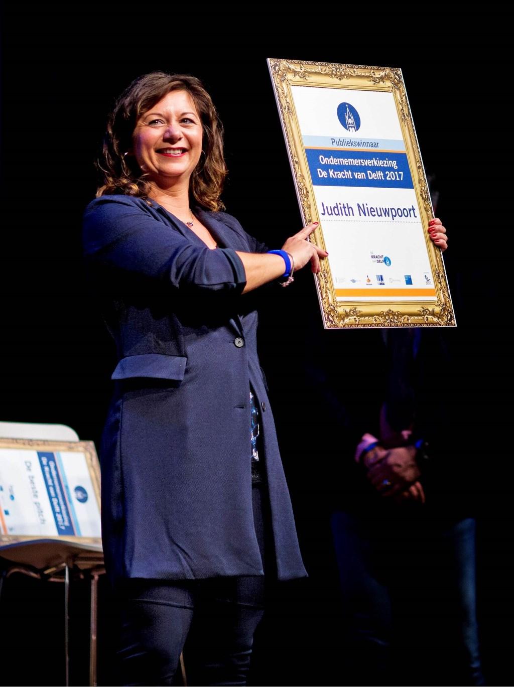Judith Nieuwpoort steeg met de hoogste stip!