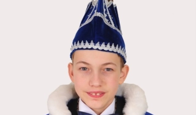 De nieuwe Jeugdprins van De Olijkers, Giovanni Dupon (Foto: Marc Remie)