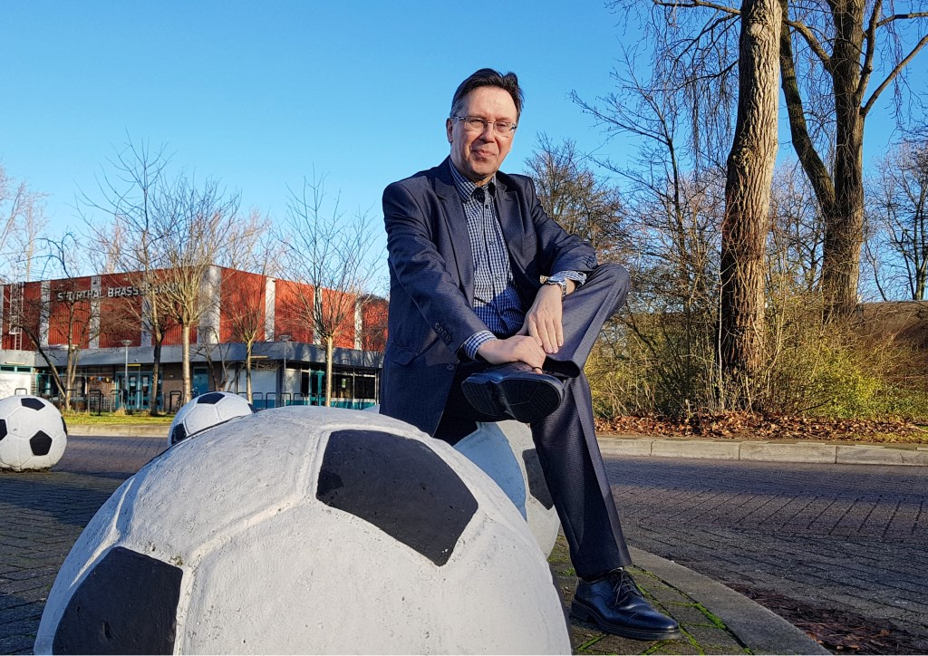 Wicher Schreuders, voorzitter van de Sportraad Delft (Foto en tekst: Willem de Bie)  © RODI Media-zh