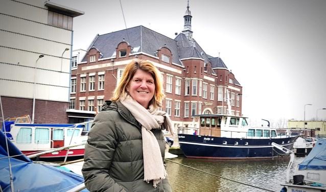 Elise Goosens, de nieuwe voorzitter van tennisvereniging DTB