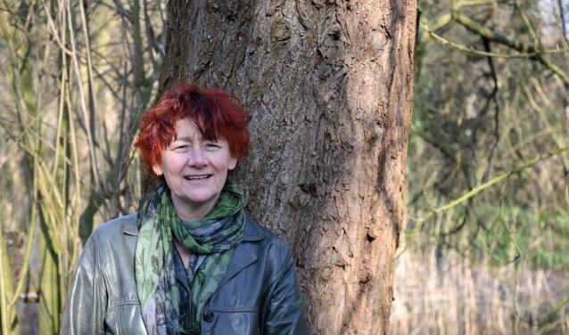 Catharina de Boer geeft lichaamsgerichte therapie.