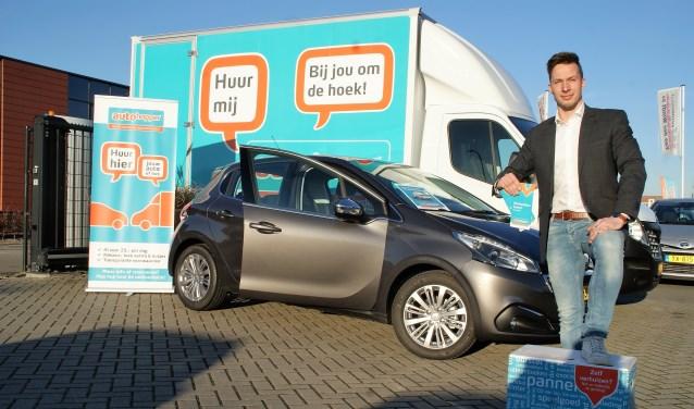 Rob van den Berg, het aanspreekpunt voor AutoHopper bij Autobedrijf Van der Windt.