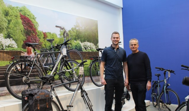 De oude en de nieuwe generatie: Paul Karlas en zijn zoon Olaf. (Foto: EvE)