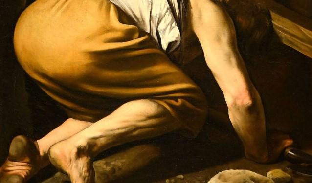 Caravaggio schilderde heel waarheidsgetrouw, dus ook vieze voeten
