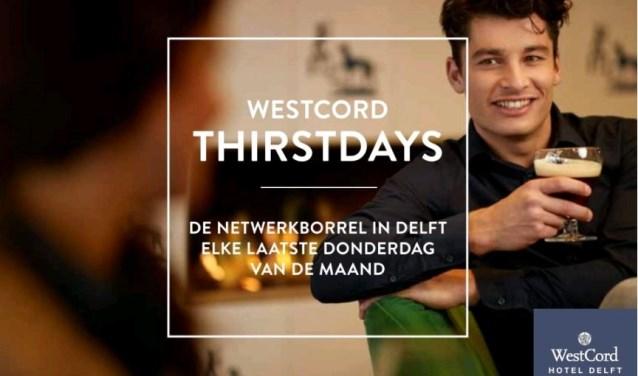 Elke laatste donderdag van de maand netwerken met een hapje, drankje en lekkere deuntjes bij WestCord Hotel Delft  (Foto: Nick Keizer)