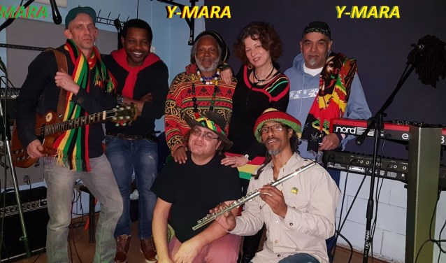 Reggaeband Y-Mara treedt zaterdag op bij STECK