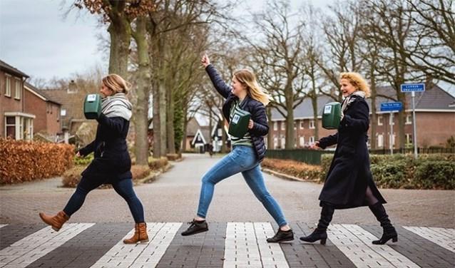 Deze collectanten van de Maag Lever Darm Stichting zijn er in elk geval klaar voor!