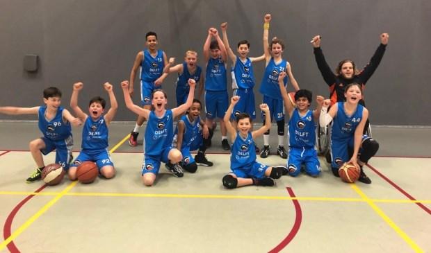 Kampioen DAS mixed team onder 12-1
