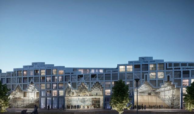 Huis van Delft met een opvallende architectuur wordt dé entree van de stad.