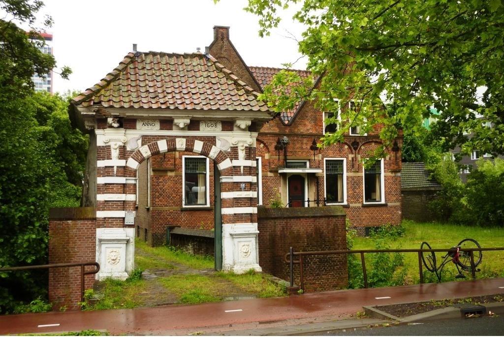 De Hammenpoort, voor de restuaratie  © RODI Media-zh