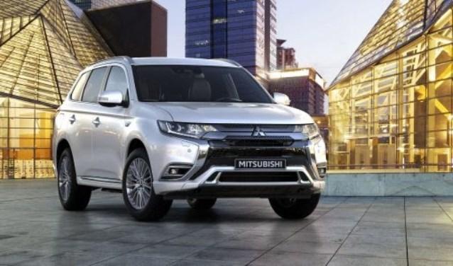 De Mitsubishi Outlander PHEV, 's werelds eerste plug-in hybride SUV.