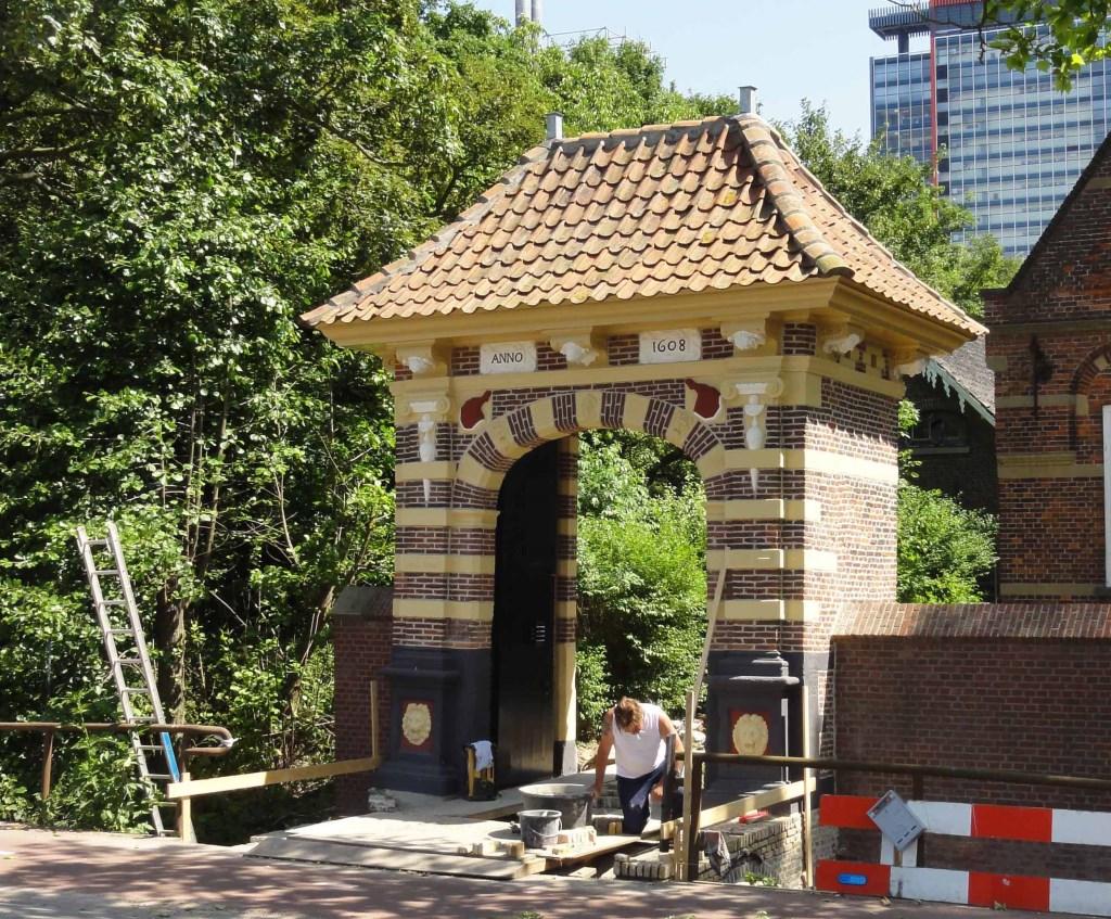 De Hammenpoort, na de restauratie  © RODI Media-zh