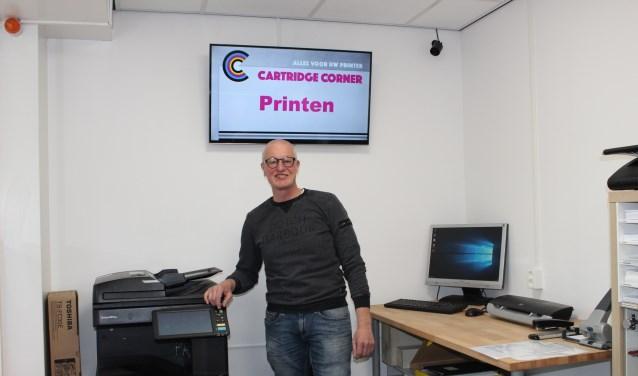 Bij Cartridge Corner kun je nu ook printen, scannen en kopiëren. (Foto: EvE)
