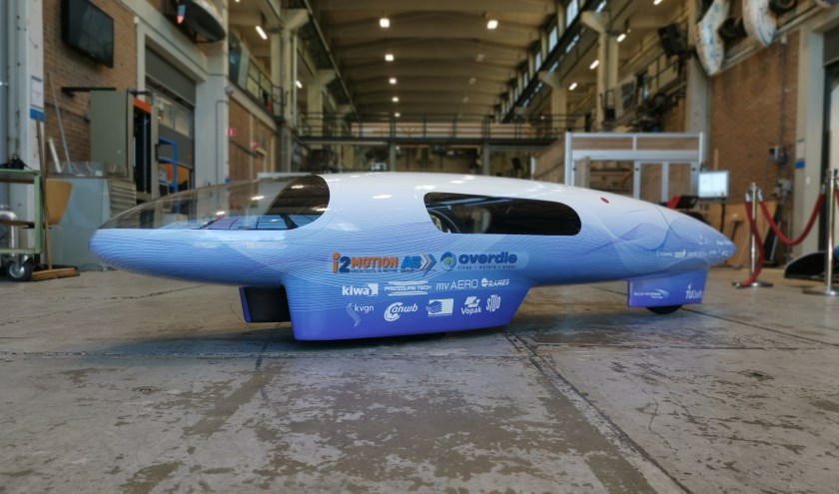 De eco-runner 9, een verfijnd staaltje vernuft op het gebied van duurzaam transport