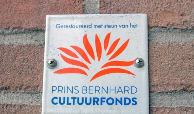 Restauraties worden ook mede gefinancierd met bijdragen uit hetPrins Bernhard Cultuurfonds.