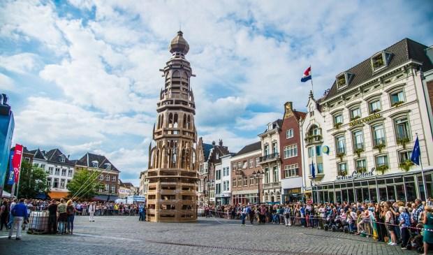 Een prachtig bouwwerk moet verrijzen bij het station van Delft