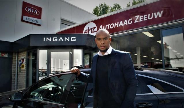 De nieuwe vestigingsmanager Elgin Herfst heet iedereen welkom bij Kia Autohaag Zeeuw Delft.