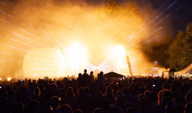 Een sfeerbeeld van het Dobbe Lentefestival van vorig jaar