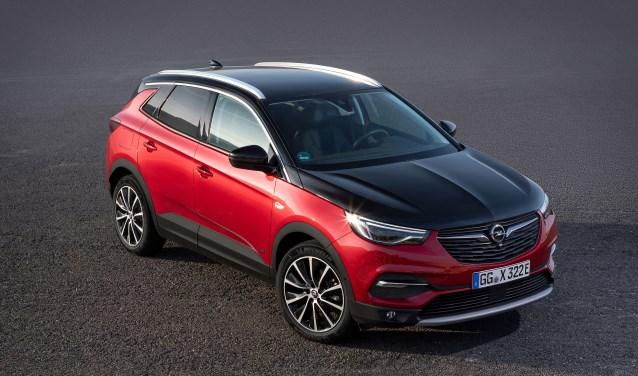 De Opel Grandland X als vierwiel aangedreven plug-in hybride variant.
