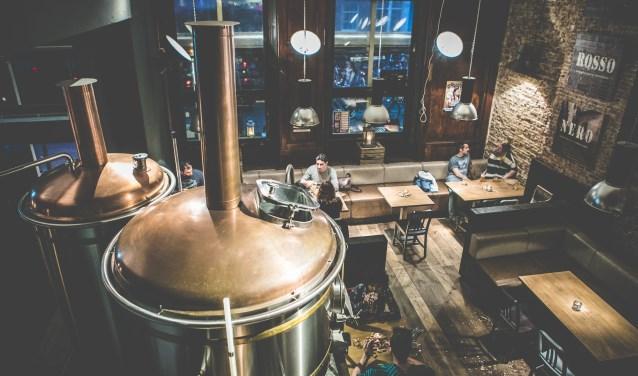 In de Bierfabriek kun je eten in de brouwerij. (Foto: PR)