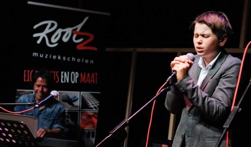 """""""Muzikaal talent Maarten Bakker treedt op 15 juni op bij Rootz Muziekschool""""  (foto: Liesbeth Bergen)"""