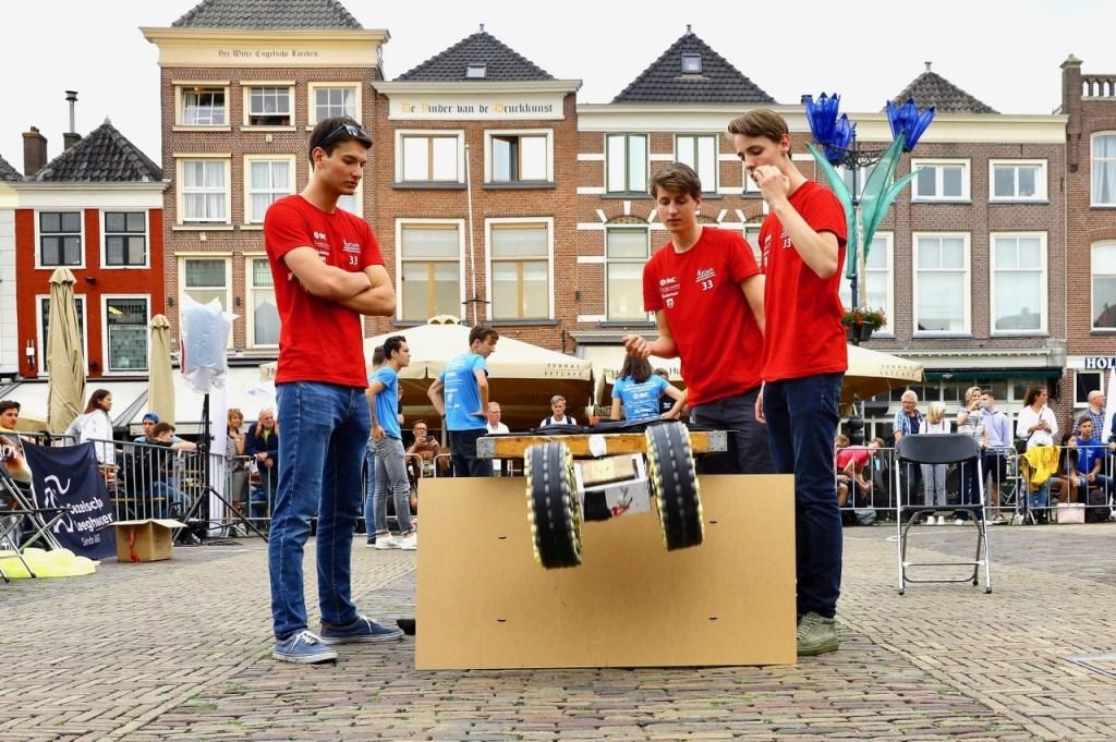 Marktlander ontwerpwedstrijd door TU-studenten Foto: KOOS BOMMELE © RODI Media-zh