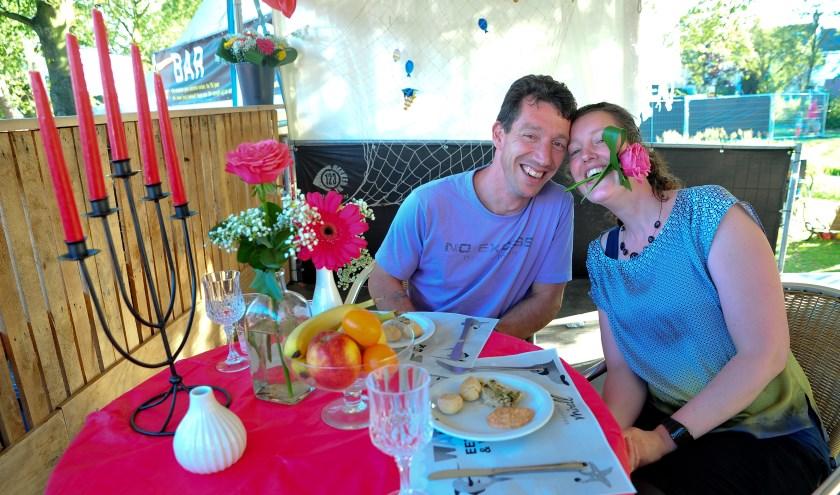 Romantisch dineren tijdens Waterpop in Wateringen. (foto: PR)