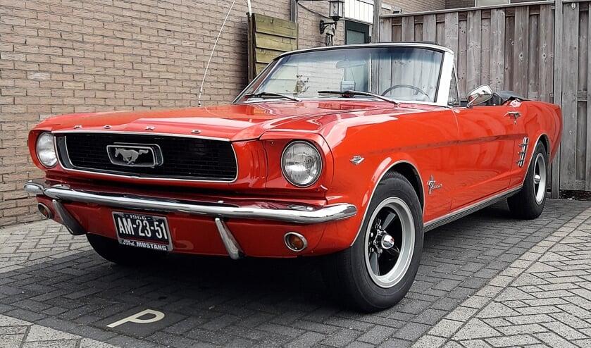 De prachtige Ford Mustang Convertible 289 uit 1969