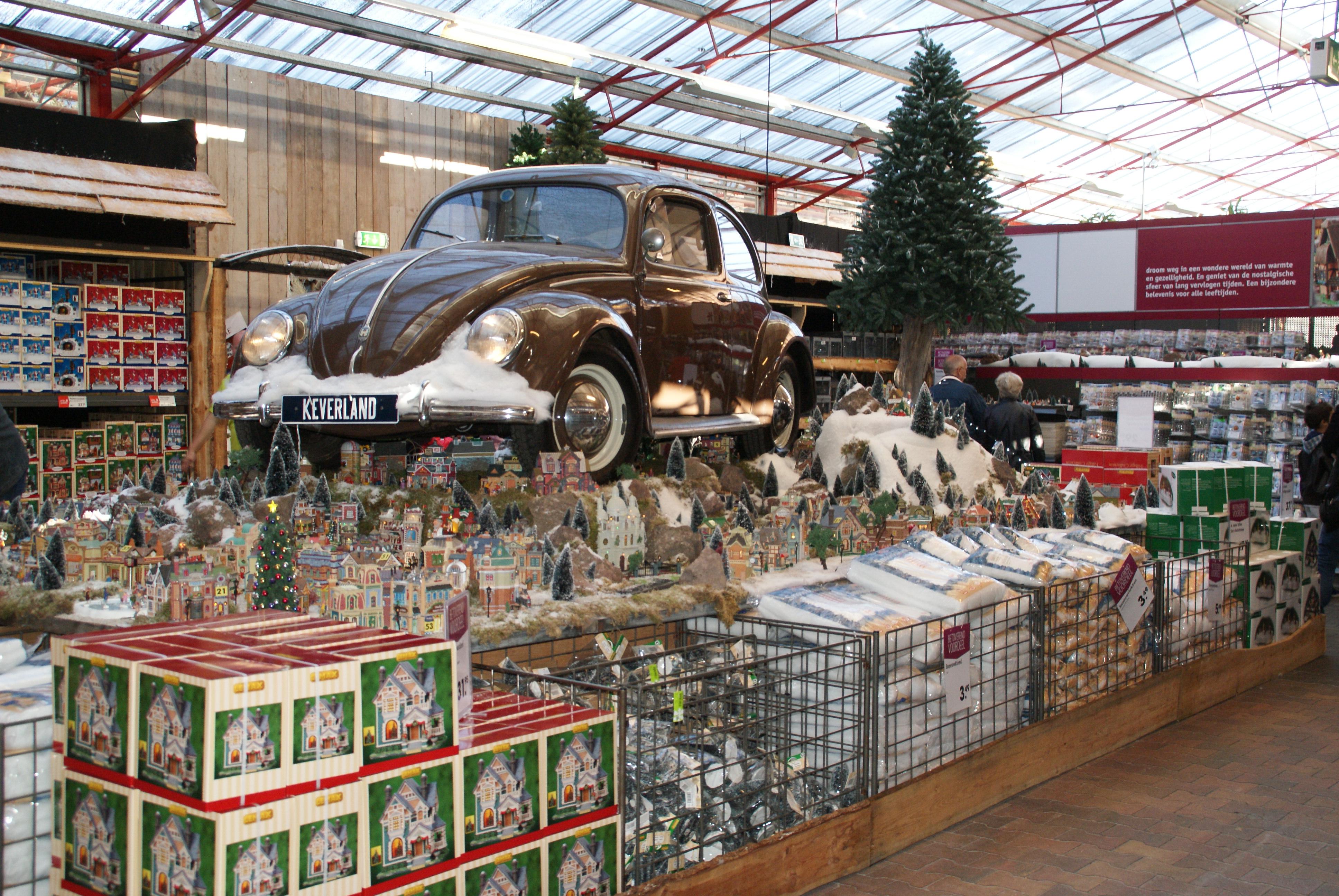 Delft op zondag betoverende kerstshow van intratuin for Intratuin duiven