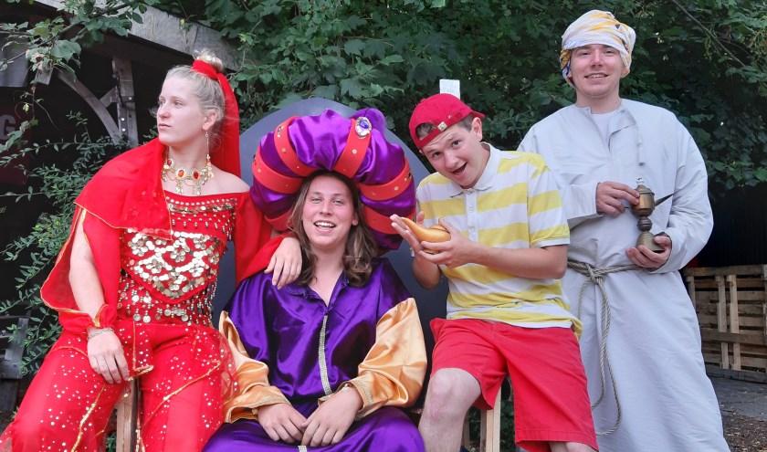 De speelweek in Hulst heeft een magisch thema: 'Freek en de Magische Lamp'. Foto Douwe Kouijzer