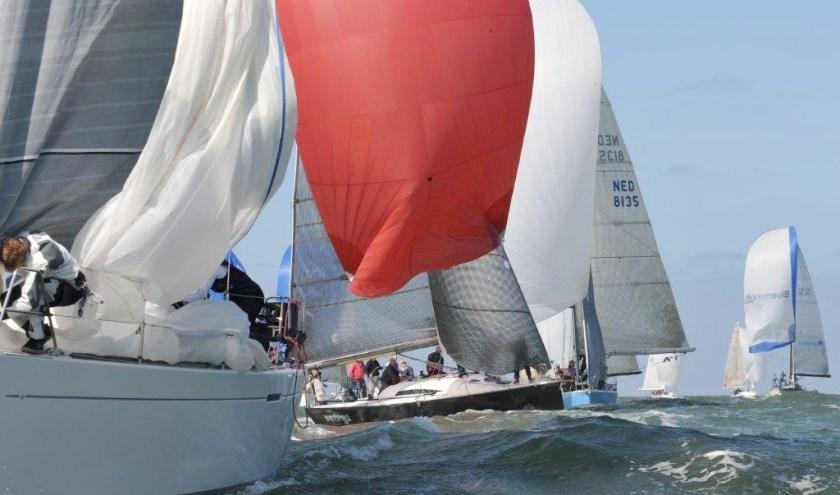 Wedstrijdzeilers in en buiten Zeeland kijken uit naar het Damen Breskens Sailing Weekend. Foto Anusjka Martens