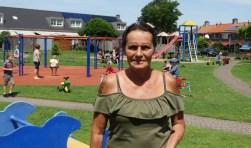 Marian Koudijs doet vrijwilligerswerk in speeltuin Oosterkwartier in Baarn.