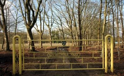 Wilhelminapark opengesteld voor Herenboeren-wandeling