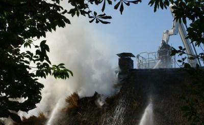 Brand in boerderij Gemonde