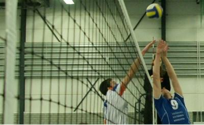 Volleybal op lokale omroep