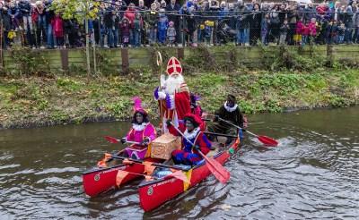 Sinterklaas stapel op onderkomen in Boxtel
