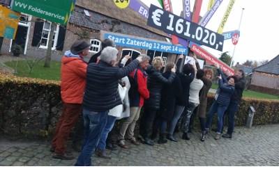 Samenloop voor Hoop: 161.020 euro