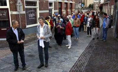 Fakkeltocht voor vrede in Boxtel