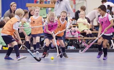 Hockeyjeugd MEP leeft zich uit
