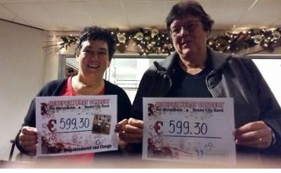 Kerstbenefietconcert: 1.344 euro