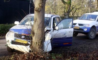 Automobilist gewond na ongeval