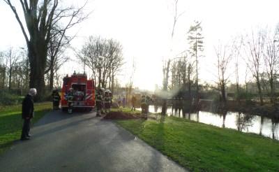 Buitenbrandje park Molenwijk