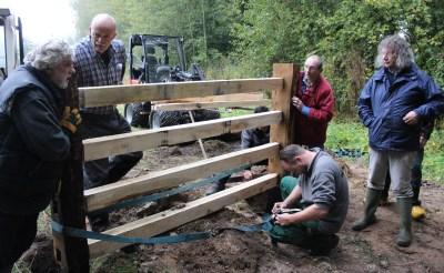 Schutskooi in Geelders klaar voor gebruik
